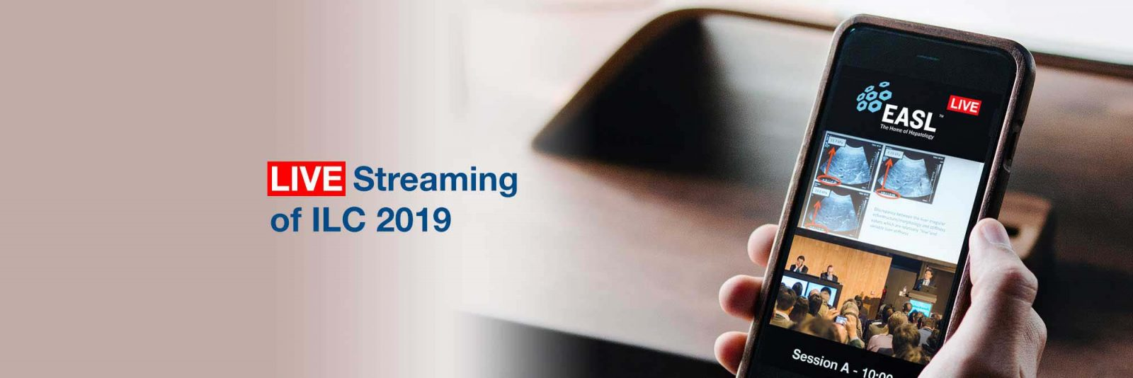 ILC 2019 live streaming library