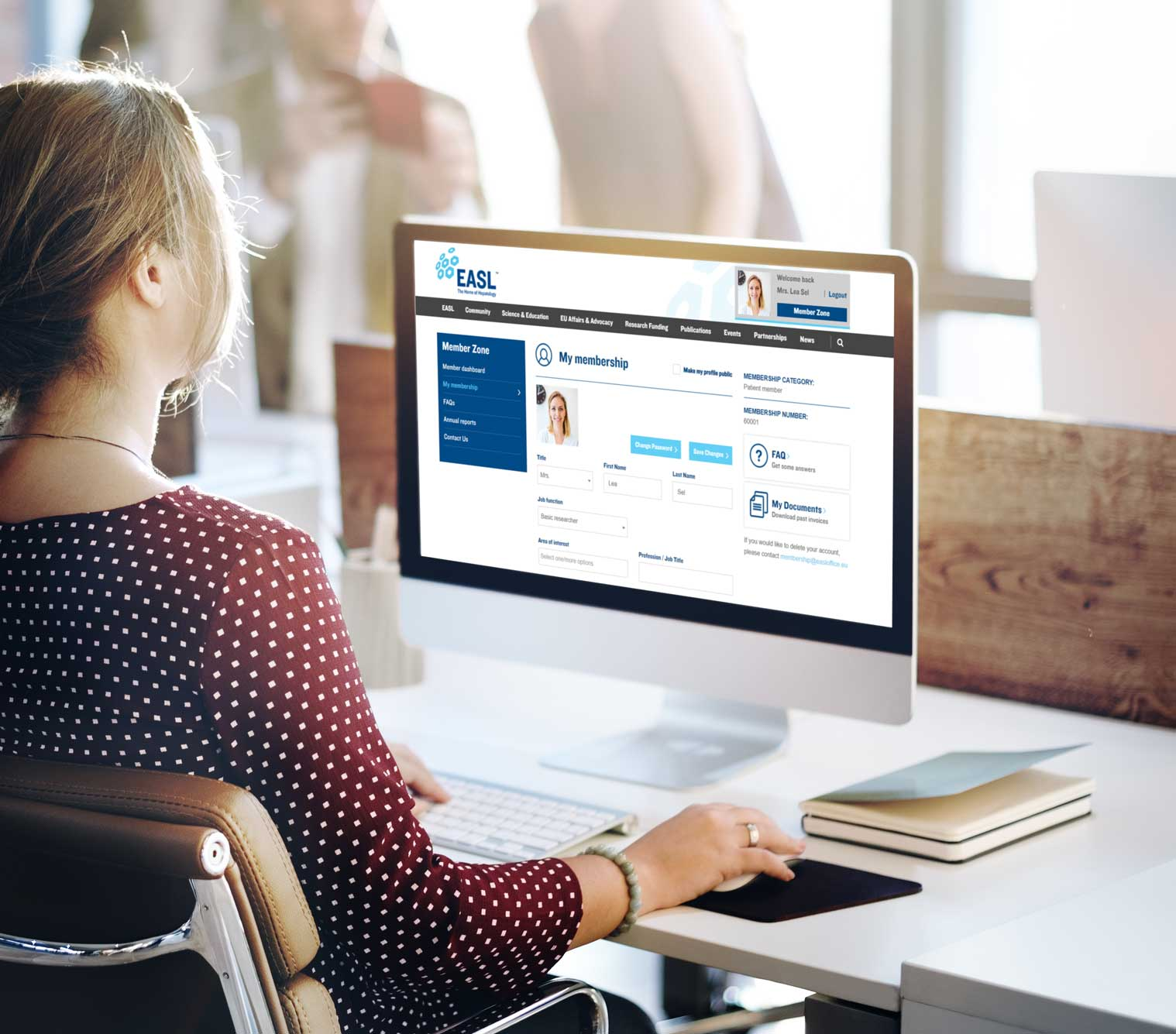New EASL Member Zone Now Online