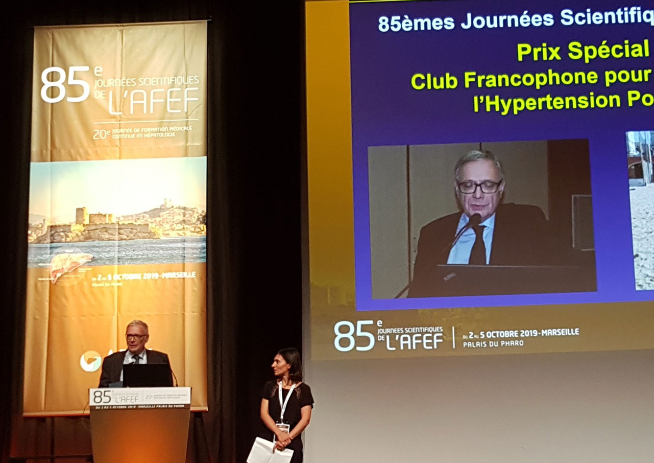 EASL-CLIF Consortium Founding Member Receives Special Award