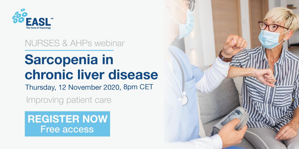 Register For Our Nurses & AHPs Webinar On Sarcopenia In Chronic Liver Disease. Free Access.