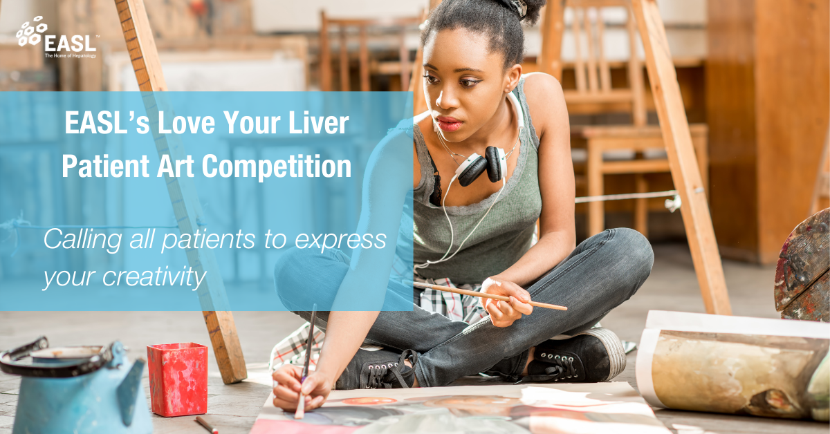 Calling Patients To Get Arty In EASL's Love Your Liver Patient Art Competition